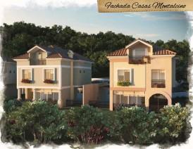 Fachada Casas Montalcino